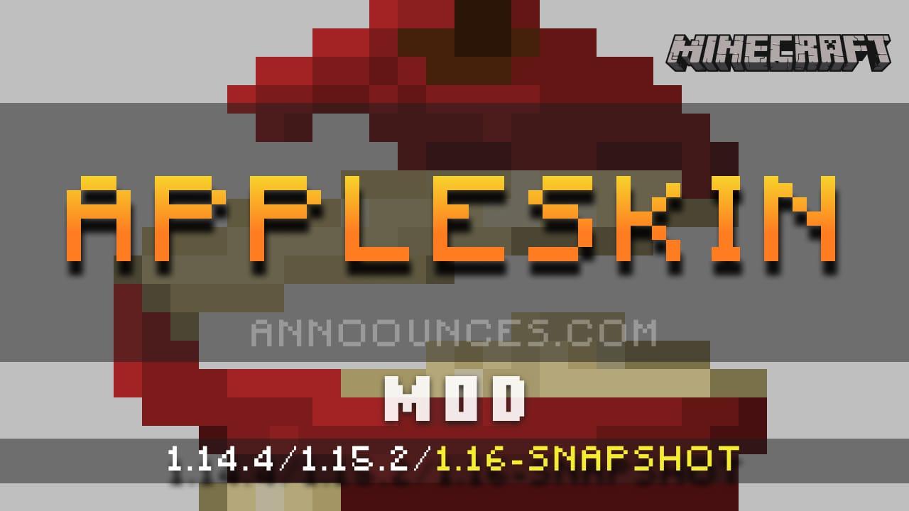 AppleSkin Minecraft 9.94 - Minecraft Mods