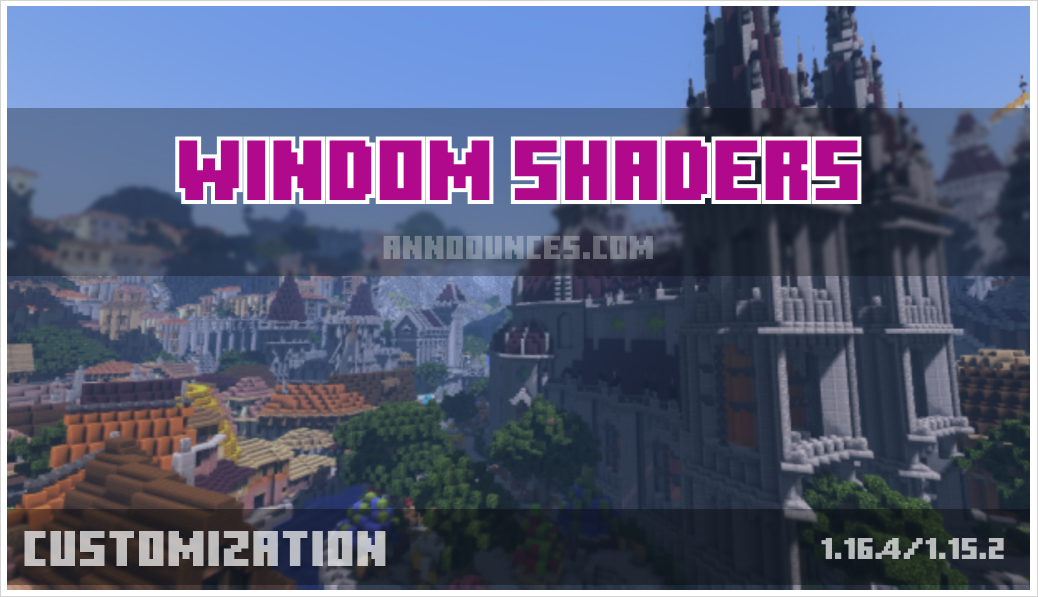 Windom Shaders 1.16.4