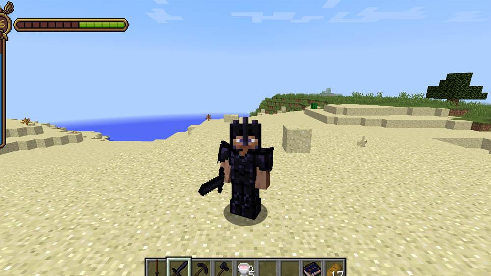 Obsidian Armor Set