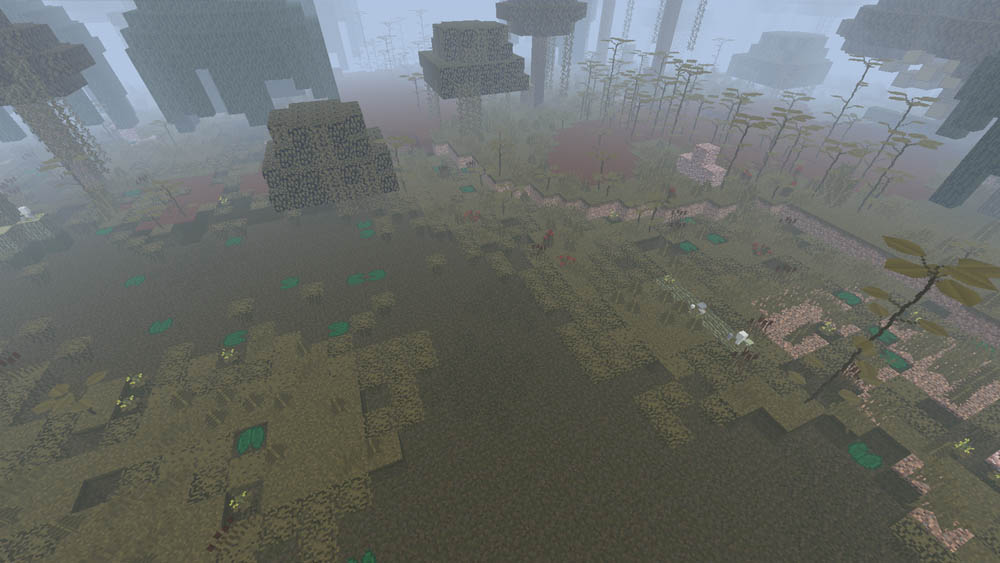 Sinister Swamp Biome