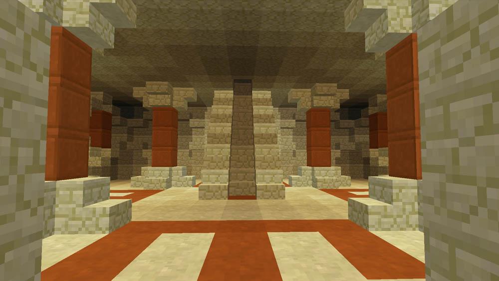 Stairs within the Ziggurat