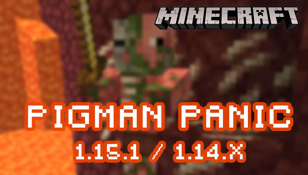 Pigman Panic for Minecraft 1.15.1/1.14.x