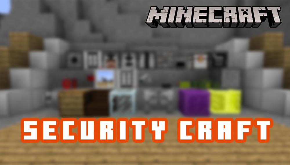 Security Craft Mod for Minecraft 1.15.1/1.14/4/1.13.2/1.12.2