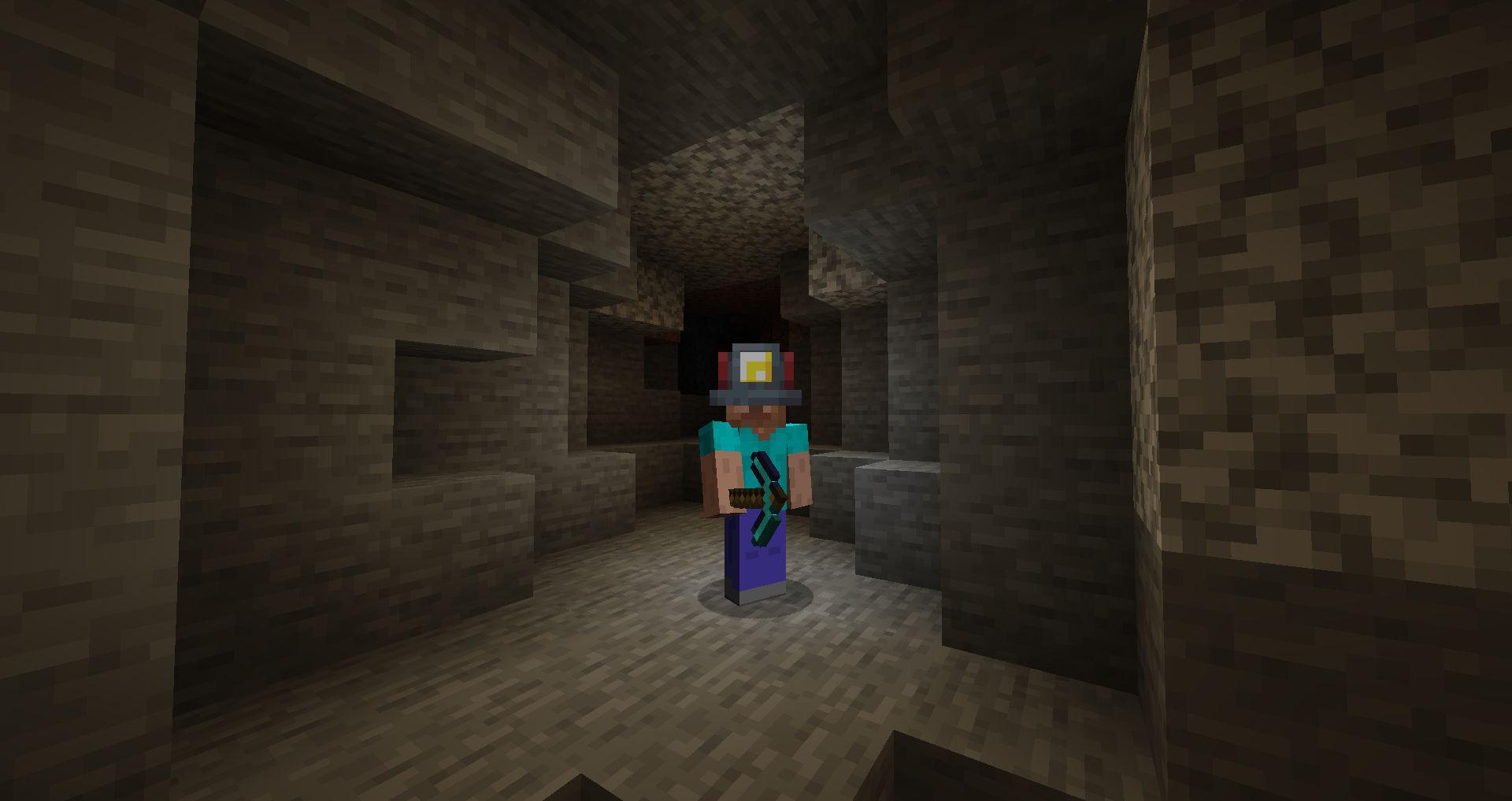 The Mining Helmet