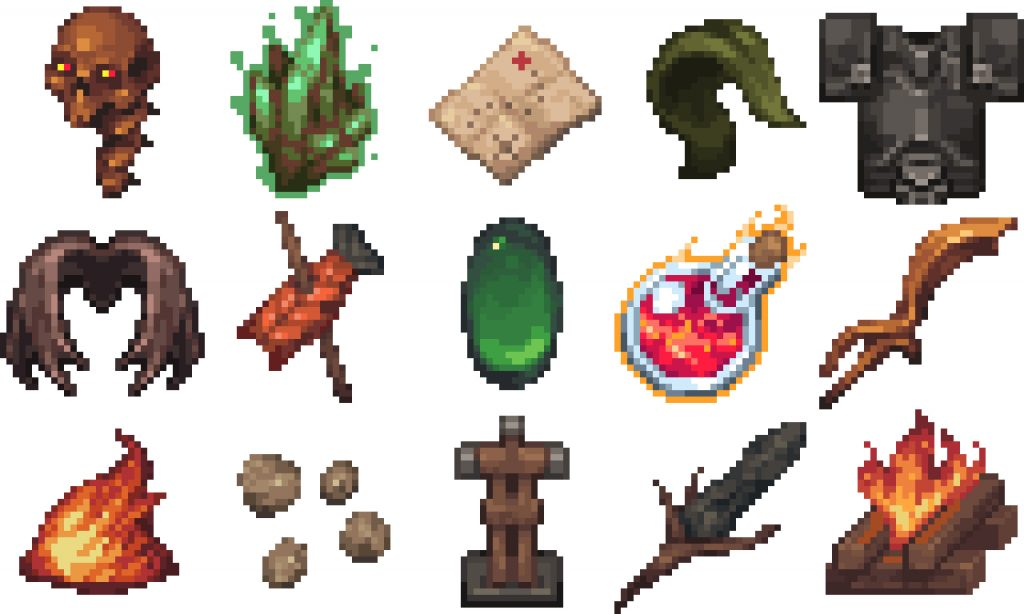 More items