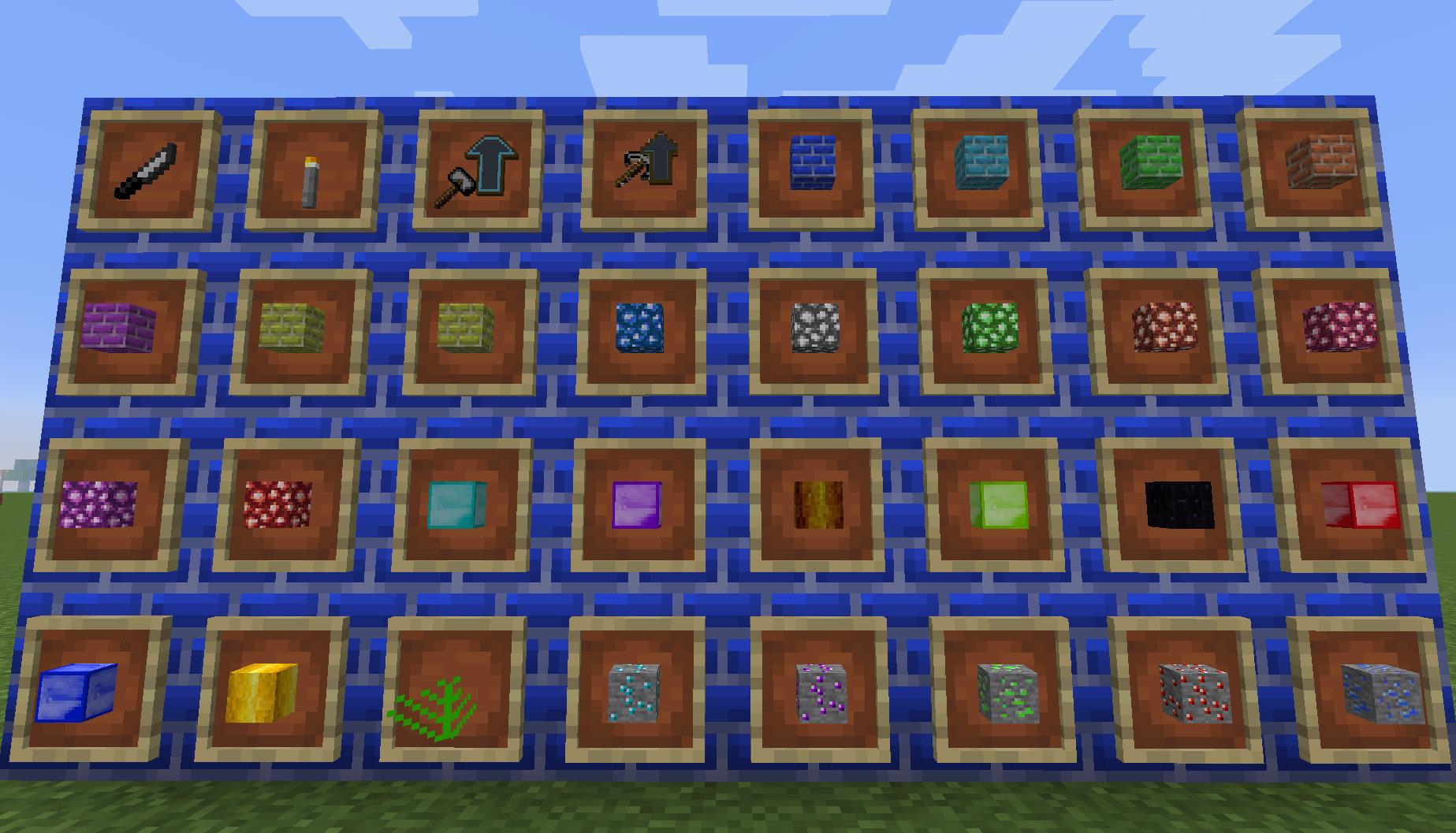 Crops, Items, & Blocks