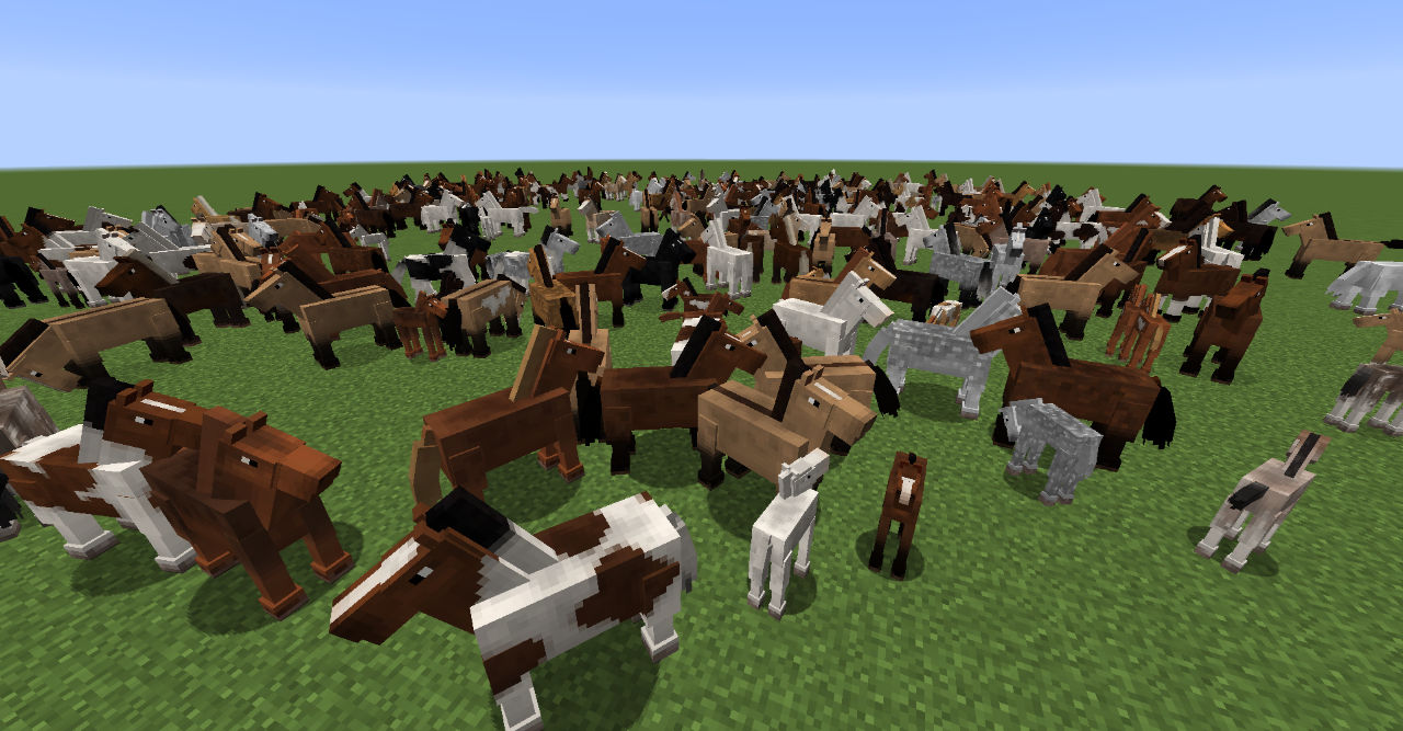 Realistic Horse Genetics Mod 1 12 2 1 14 4 1 15 2 Minecraft Mods