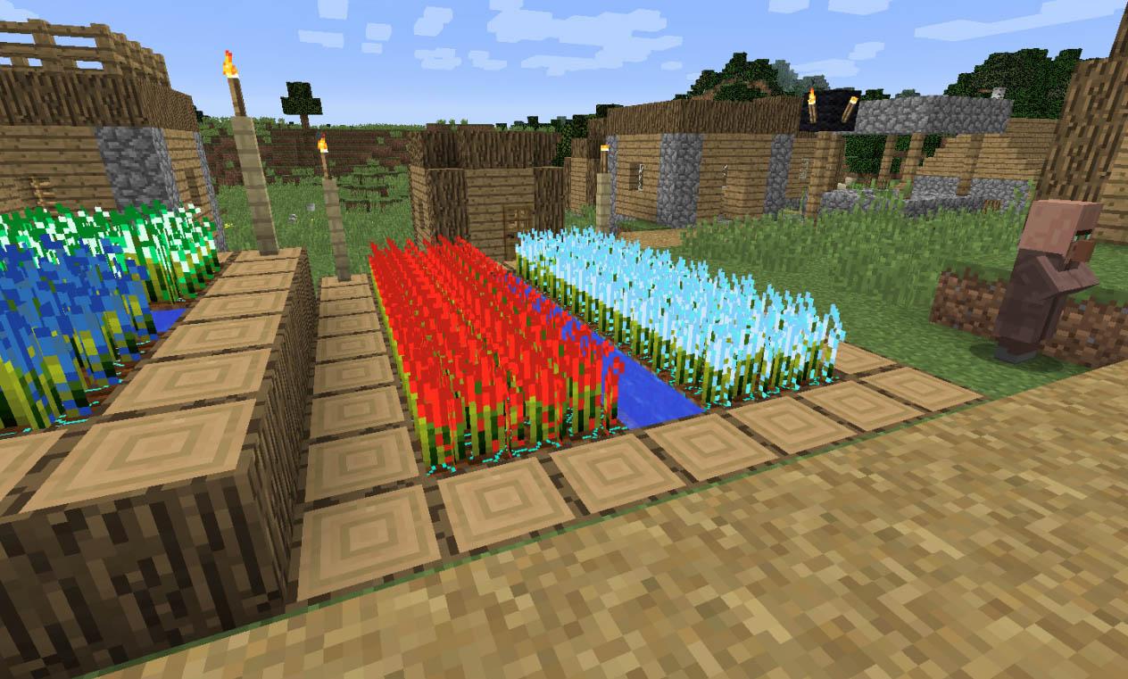 Crystalline Plants