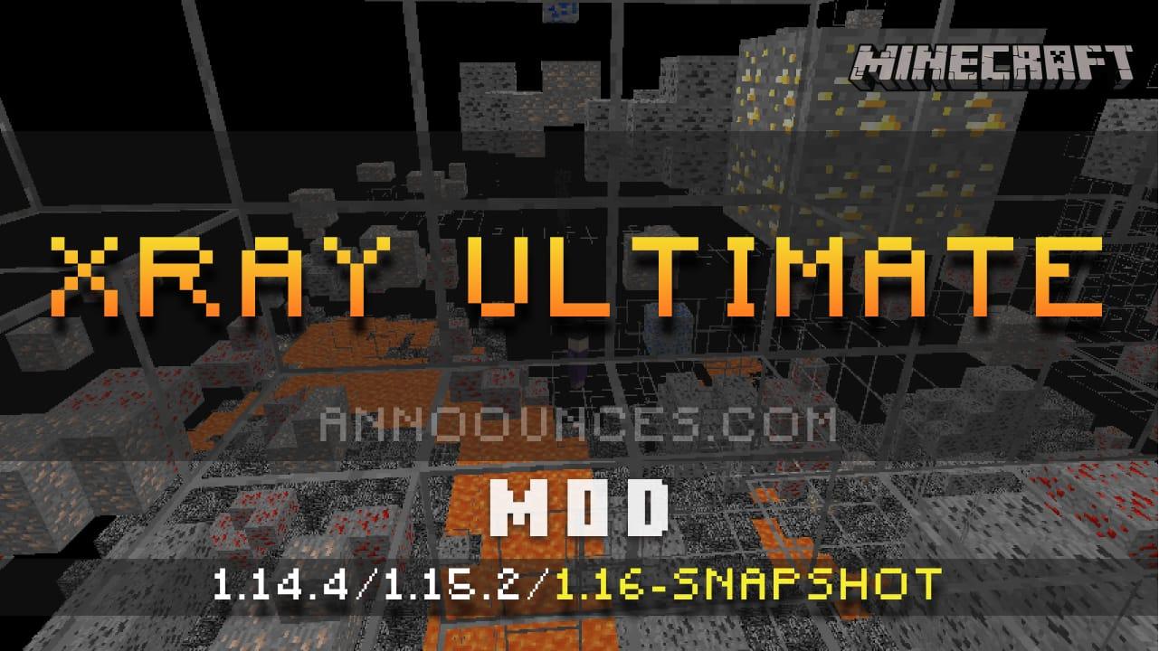 Xray Ultimate [Texture Pack] 9.92.x-9.93.x-9.94.x-9.95.x/9.96-Snapshot