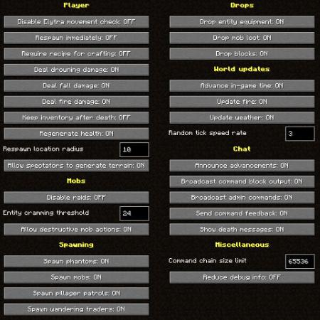 Smithing Table Interface - Snapshot 20w17