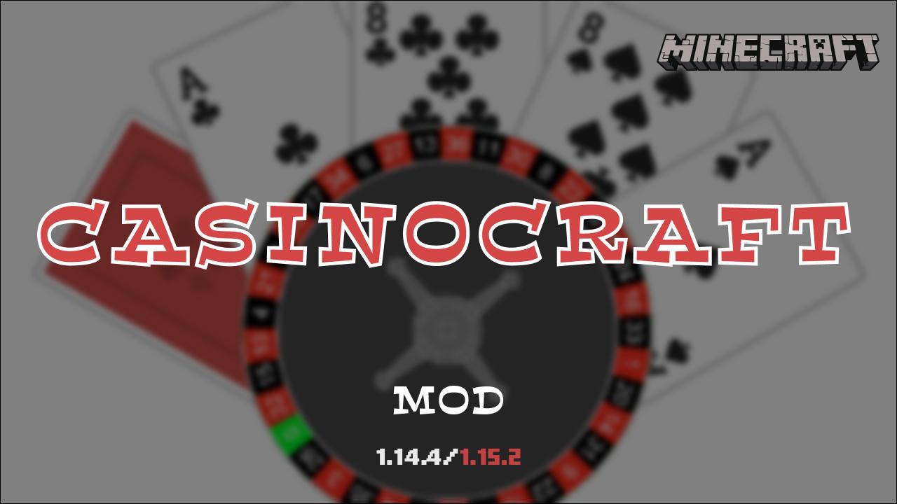 Casinocraft Mod For Minecraft 1 14 4 1 15 2 Minecraft Mods