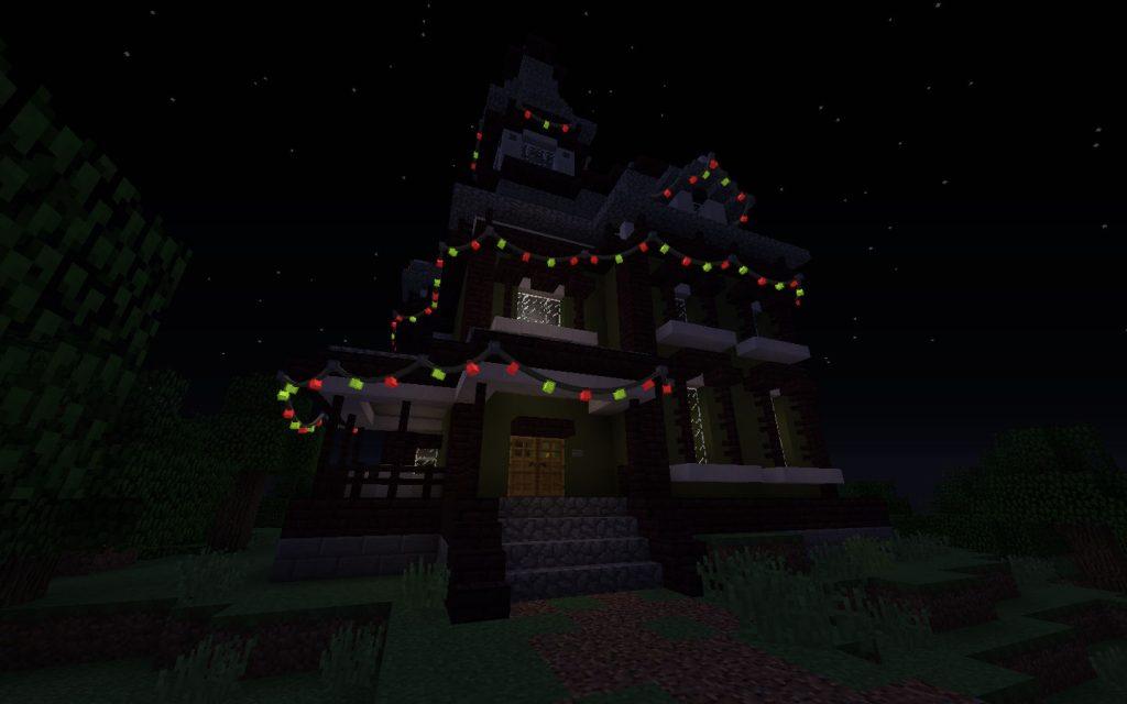 Fairy Lights on House