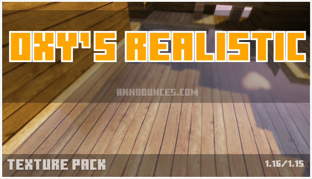 Oxy's realistic pack [128x]