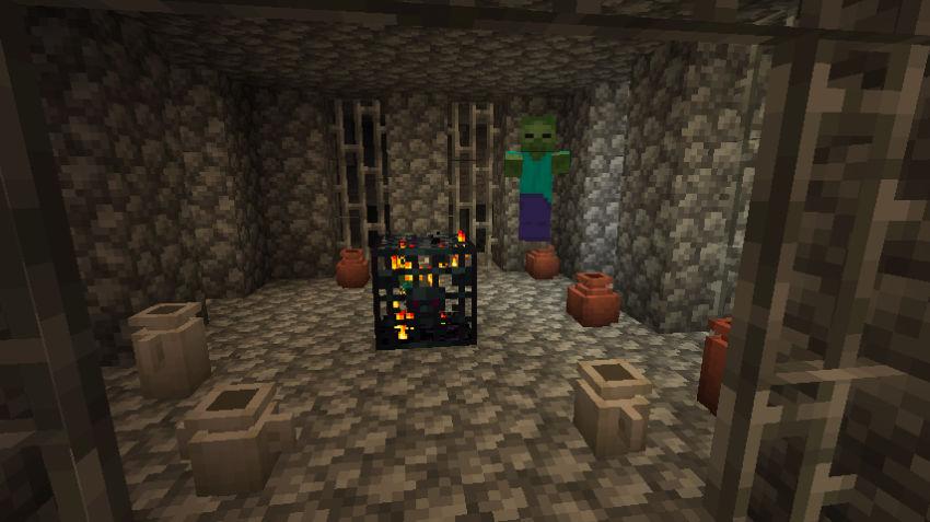 Inside a dungeon