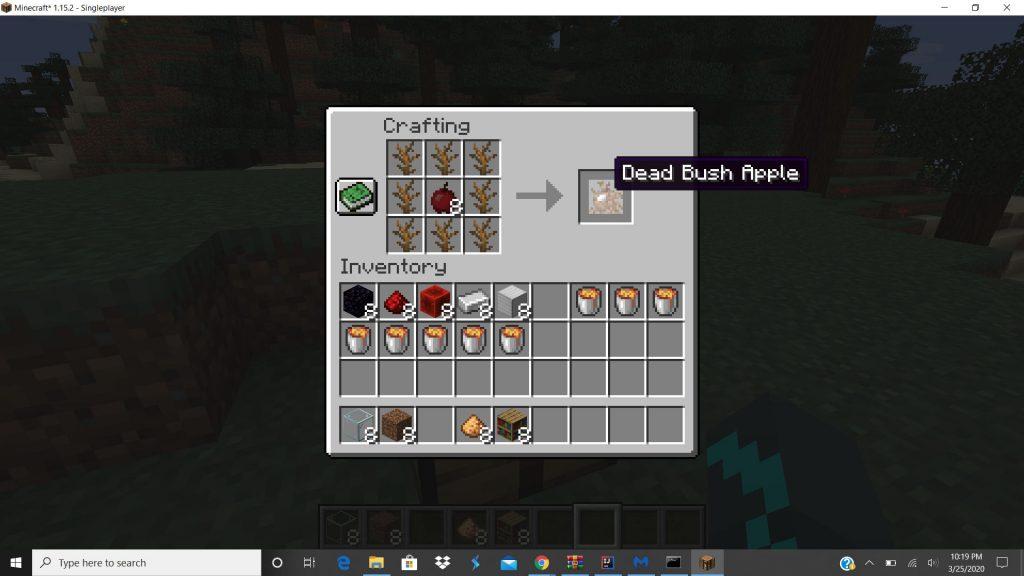 Dead Bush Apple