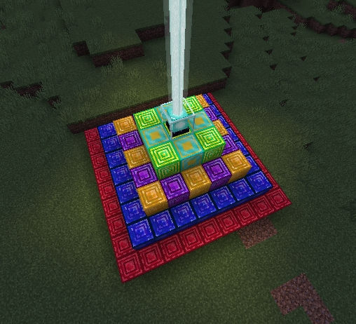 Undermat Blocks as Beacon Base (v.1.3.0)
