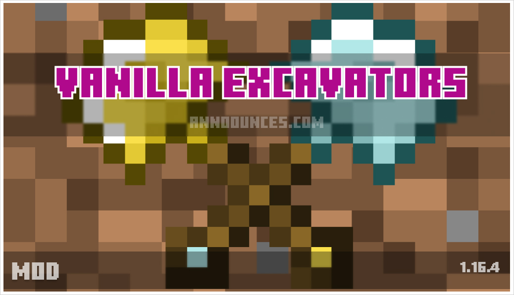 Vanilla Excavators [Forge]