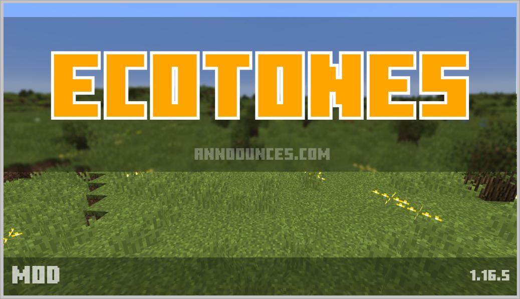 Ecotones