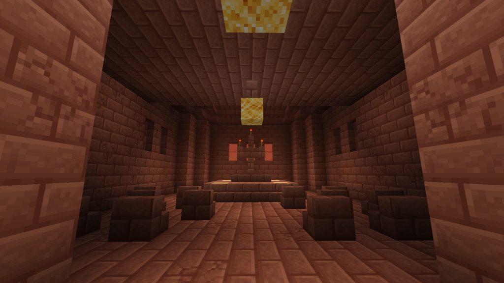 Martian Church Interior