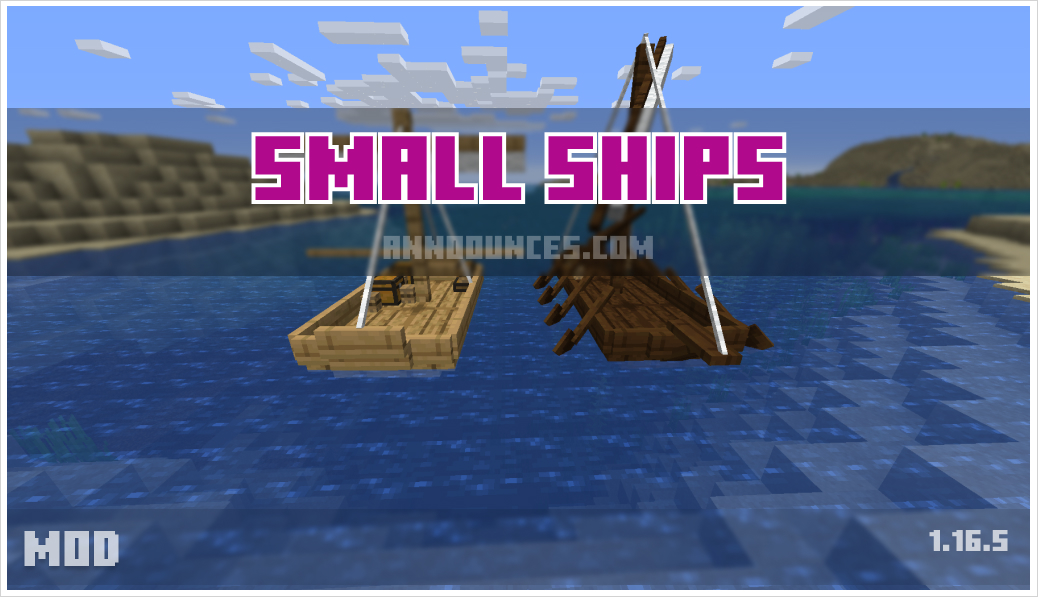 Small Ships 1.16.5