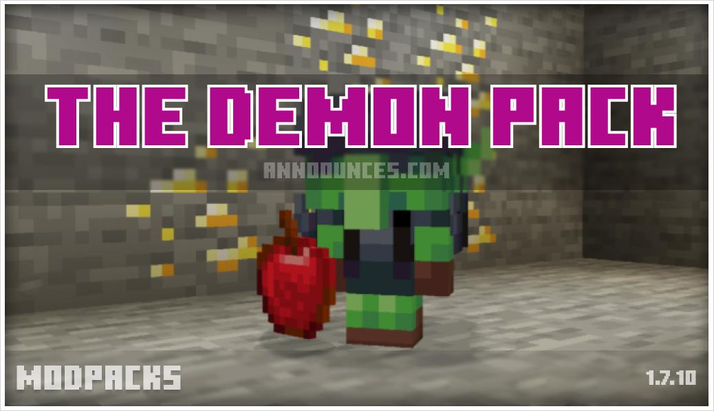 The Demon Pack 1.7.10 v1.8