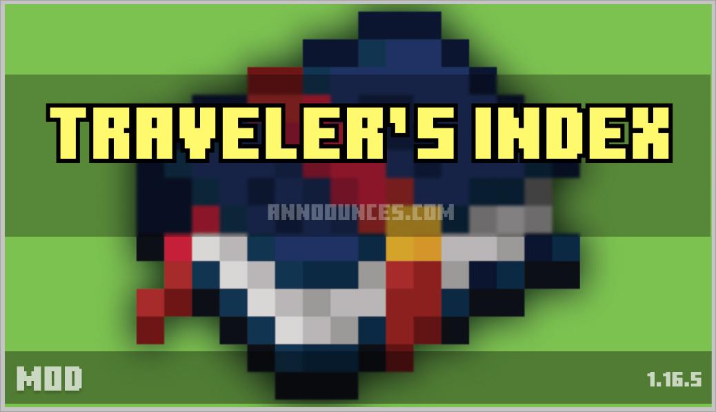 Traveler's Index 1.16.4