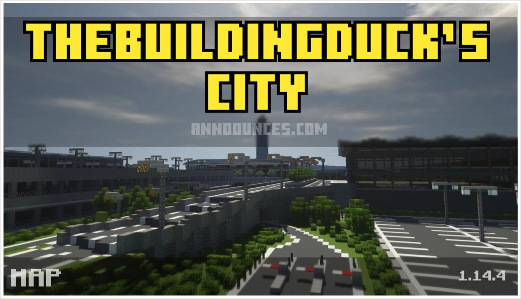 TheBuildingDuck's City