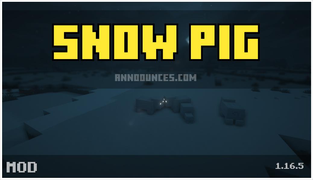 snow-pig